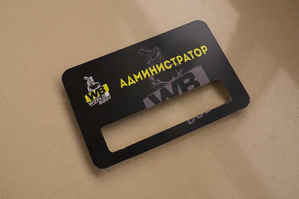 Бейджи из металла для администратора и сотрудников рецепшон, Uslugi4u